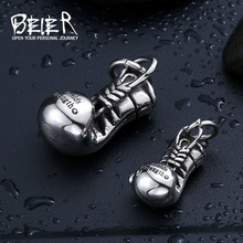 Buy BEIER Fashion Steel Boxing Glove Pendant Necklaces Jewelry 316L Stainless Steel Boy's Cool Punk Pendant Necklace BP8-148 for $2.83 in AliExpress store