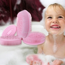 Buy Baby bath brush Prevent bacterial Children silicone brush baby shampoo brushShower Shampoo Scalp Care Comb Grooming -B116 for $5.47 in AliExpress store