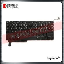 "Tested New 15.4"" A1286 Thai Thailand Layout Keyboard For Macbook Pro Laptop TH Keyboard 2009 2010 2011 2012 Replacement"