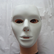 2017 Jabbawockeez Hip-hop White Face Mask for Halloween Party Cosplay Costume Party High Quality DG466(China)