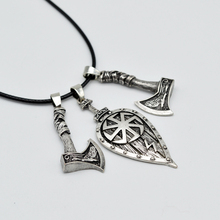 1pc Dropshipping Norse Viking Pirate Jewelry Slavic Axe Pendant Necklace Hammer Axe Amulet Talisman Necklace For Women Men CT677