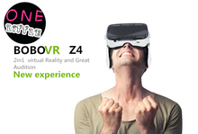 Original  BOBOVR Z4 Virtual Reality 3D VR Glasses google cardboard BOBO VR box with headphone for 4.0-6.0 inch cellphone