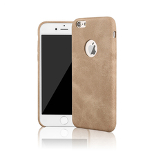 Buy JiBan Cover iPhone 7 8 Plus Case Business PU Leather Protective Thin Back Case iPhone 8 7 6 6S Plus 5S SE Logo Hole for $2.57 in AliExpress store