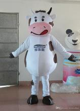 ohlees actual real picture Cut Cow Mascot Suit Adult Size Mascot Costume Adult Size Outfit Plush Doll Fancy Dress