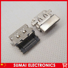 35pcs/lot  19pin HDMI Jack HD USB Port  For acer sumsung hp lenovo etc Jack VGA