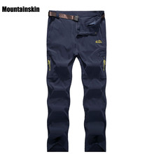 Mountainskin 5XL Men's Summer Quick Dry Waterproof Pants Breathable Trousers Outdoor Sports Hiking Trekking Fishing Pants VA118