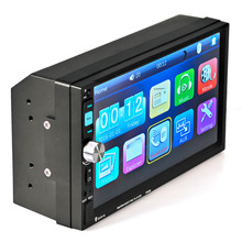 LESHP  7080B 7 Inch Car Video Player with HD Touch Screen Car MP3 MP4 MP5 Audio USB Auto Electronics Bluetooth Stereo Radio