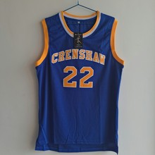 LIANZEXIN Quincy McCall Number 22 Jersey Movie Basketballs Crenshaw Jerseys High School Blue Basketball Jerseys For Sale