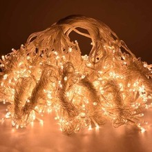Christmas Festival Garden Party Room happy birthday Wedding decoration lights 3x3m 300leds curtain icicle lights free shipping