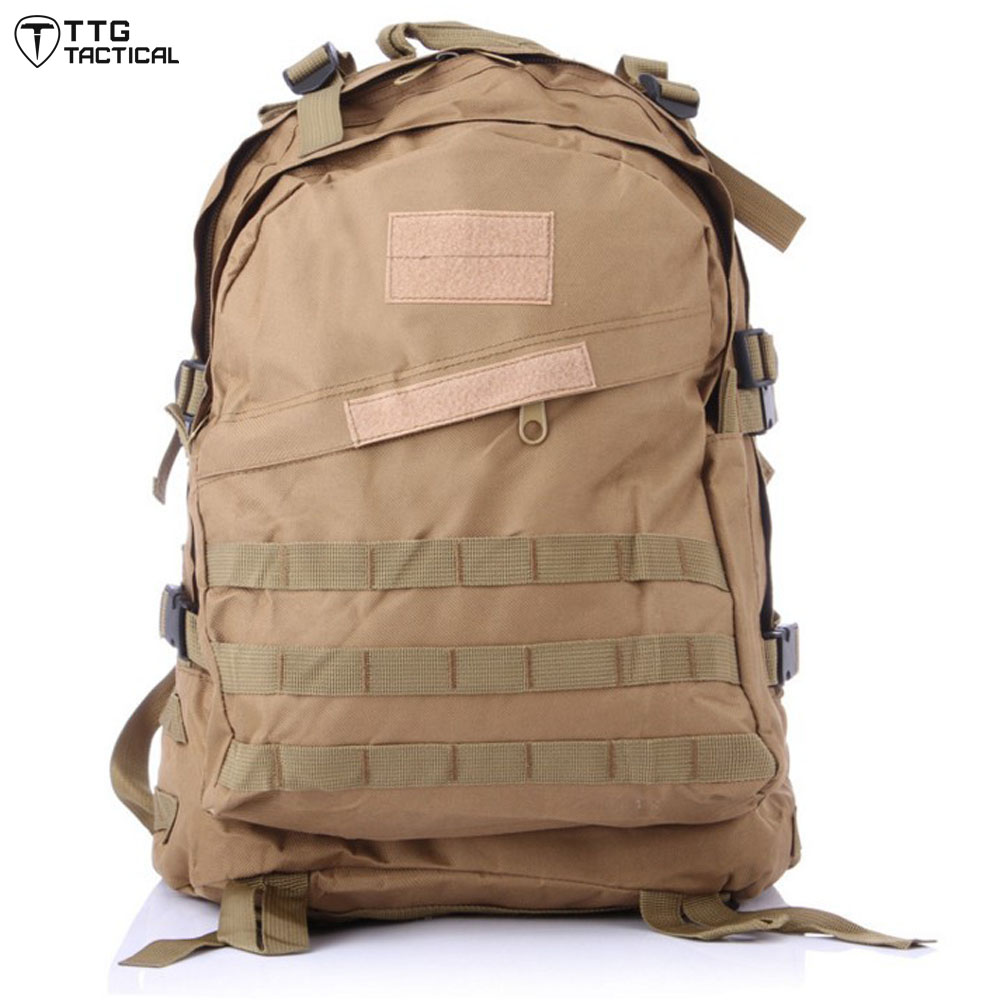 MOLLE 3D Travel Military Backpack Large Capacity Camouflage Rucksack Utility Waterproof Combat Backpack<br>