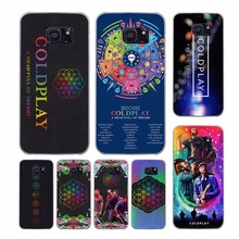 Coldplay A Head Full of Dreams design transparent clear hard case cover for Samsung Galaxy S7 S8 Plus S6 S7 edge S5 S4 mini