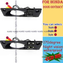 HD LED car rear view reverse camera for sony CCD HONDA Odyssey 2004 2005 2006 2007 2008 parking assist(China)
