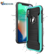 Phone Case for iPhone X 5.8 inch Cover TIEGEM Protective Luxury Silicone Hybrid TPU Slim Case for Apple iPhone 10 Case Coque(China)