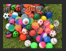 500pcs April Du Brand 32mm mix bouncing ball capsule shell toys for capsule toy machine factory price