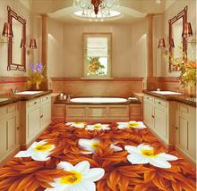 customize 3d wallpaper flooring Daffodils 3d floor wallpaper living room bedroom wallpaper for walls 3d for floor