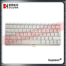 "Original White 15.4"" A1260 A1226 A1211 Norwegian Norsk Language Keyboard For Macbook Pro Norway NO Layout Keyboards Replacement"