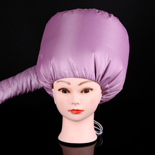 1Pcs Portable Soft Hood Attachment Hair Care Pro Salon Hair Dryer Headgear Hair Styling Quickly Dried Tool Silver Pink To Choose(China)