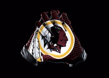 Washington Redskins Sport Team Products Gloves 3x5 ft flag 100D Polyester flag 90x150cm(China)