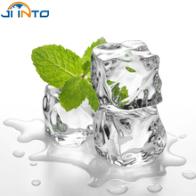 50pcs Wedding Party Display Artificial Acrylic Ice Cubes Crystal Clear Decoration