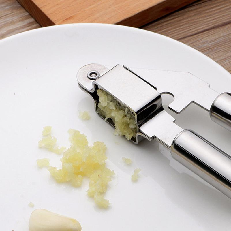 Garlic Crusher Stainless Steel Garlic Chopper Press Slicer Manual Shredder Kitchen accessories Vegetable Chopper Cooking Tools 5
