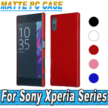 Ultrathin Matte PC Case For Sony Xperia XZS XA1 L1 XA X Performance Z Z1 Z2 Z3 Z4 Z5 Compact E5 XZ Premium Ultra Hard Back Cover