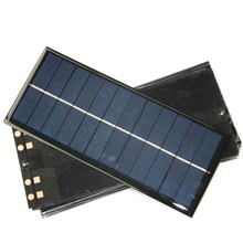 Wholesale 50PCS/Lot 2.5W 6V Solar Panel Solar Cell DIY Small Solar Power Charger/Solar Module Education Kits 213*92*3MM(China)