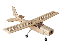 Free Shipping Cessna 960mm Laser Cut Balsa Kit Balsawood Airplane Model Building Woodiness model /WOOD PLANE(China)