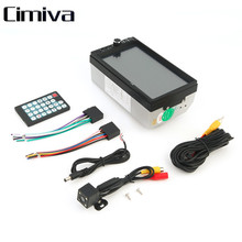 Cimiva Car Vehicle 7 Inch 7018B Screen TF Card Doule Din Bluetooth DVD Player Auto Multimedia Player Audio Player 12V