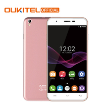 "Original Oukitel U7 Max MTK6580A Quad Core Cellphone Android 6.0 Dual SIM 5.5"" 1280*720 Mobile Phone 1G RAM 8G ROM Smartphone(China)"