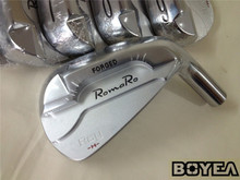 Brand New Boyea RomaRo Ray-H Irons RomaRo Golf Forged Irons Golf Clubs 4-9P R/S Flex Steel Shaft With Head Cover