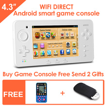 JXD S603 4.3-inch Touch Screen Android Smart Handheld Game Console Tablet PC Support simulator and Android games HDMI1080P