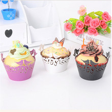 50pc Little Love Birds Laser Cut Muffin Cupcake Wrappers Cup Cake Decoration Pearl Paper Printable Birthday Party Decoration