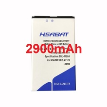 HSABAT 2900mAh BM20 Battery Use for XIAOMI M2 MI2 M2S MI2S