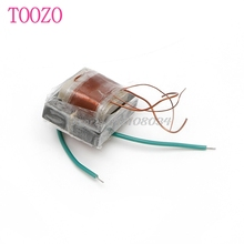 1Pc 10KV High Frequency High Voltage Transformer Booster Coil Inverter New #S018Y# High Quality