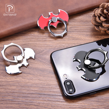 Bat 360 Degree rotate Finger Ring Phone Holder POP Smartphone Stand For iPhone/Samsung /Xiaomi/Huawei All Smart Phone