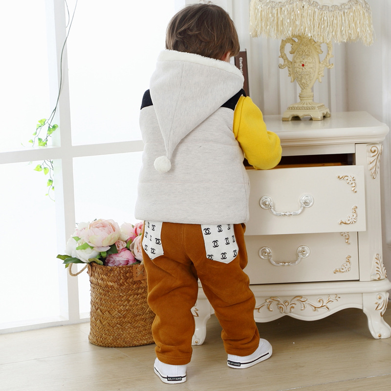 baby boy winter christmas suits kids down coats brand  sets boys winter set long sleeves hooded warm costume three piece suits<br><br>Aliexpress