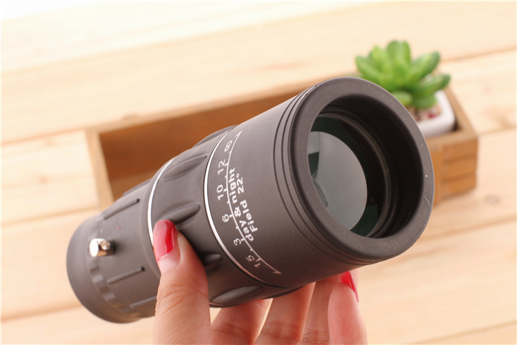 16X52 HD Portable Dual Focus Zoom Monocular High Power Optical Lenses Telescope Spotting Scope for Outdoor Camping Travelling 19