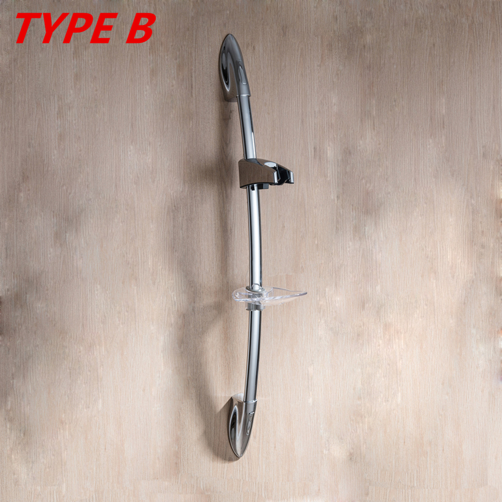 Shower Sliding Bar Shower head Slide Bars extension Bathroom Rail slider holder Adjustable sliding bar Adjust height Doodii12