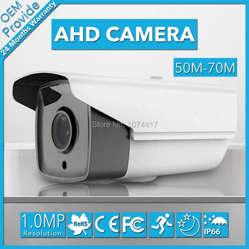 AHD4100H-E  4 Big Led  1.0MP Analog High Definition 720P AHD camera IP66  IR 70M  camera infrared  free Shipping<br>