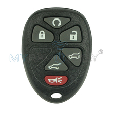 Remtekey Remote fob shell case 6 button car key for GMC Cadillac Chevrolet OUC60270