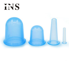 Graceful    Small Cups Anti Cellulite Vacuum Silicone Massage Cupping Cups Set   AUG12