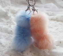 Llaveros New 13 Color Cute Faux Rabbit Hair Bulb Bag Car Plush Ornaments Fur Ball Pendant Keyring Pom Keychain Freeshipping
