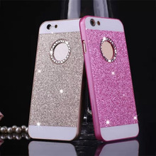 Buy Fashion Glitter Powder Phone Cases iphone 7 6 6SSE 5 5S Plus Case Luxury Bling Sparkle Diamond Rhinestone Hard PC Back Cover for $1.26 in AliExpress store