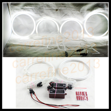 4pcs for Lexus IS200/IS300 ccfl led angel eyes For TOYOTA ALTEZZA headlight white color ccfl angel eyes for lexus led halo rings(China)