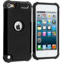 Shockproof Hybrid Impact Rugged Rubber Hard Protective Case Cover For Apple iPod Touch 5 5th 5G Gen  / Touch 6 6th