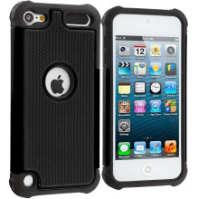 Shockproof Hybrid Impact Rugged Rubber Hard Protective Case Cover For Apple iPod Touch 5 5th 5G Gen / Touch 6 6th(China)