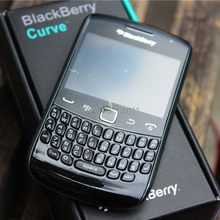 Unlock Original Blackberry Curve 9360 Cell Phone 5MP Camera QWERTY KEYBOARD Refurbished Mobile Phone in stock Free Shipping(Hong Kong)