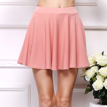 Buy 2017 New Summer Women Skirt Chiffon Mini Pleated Sexy Short Skirts Women High Waist Casual Chiffon Skirts Cute Mini Skirt for $4.59 in AliExpress store