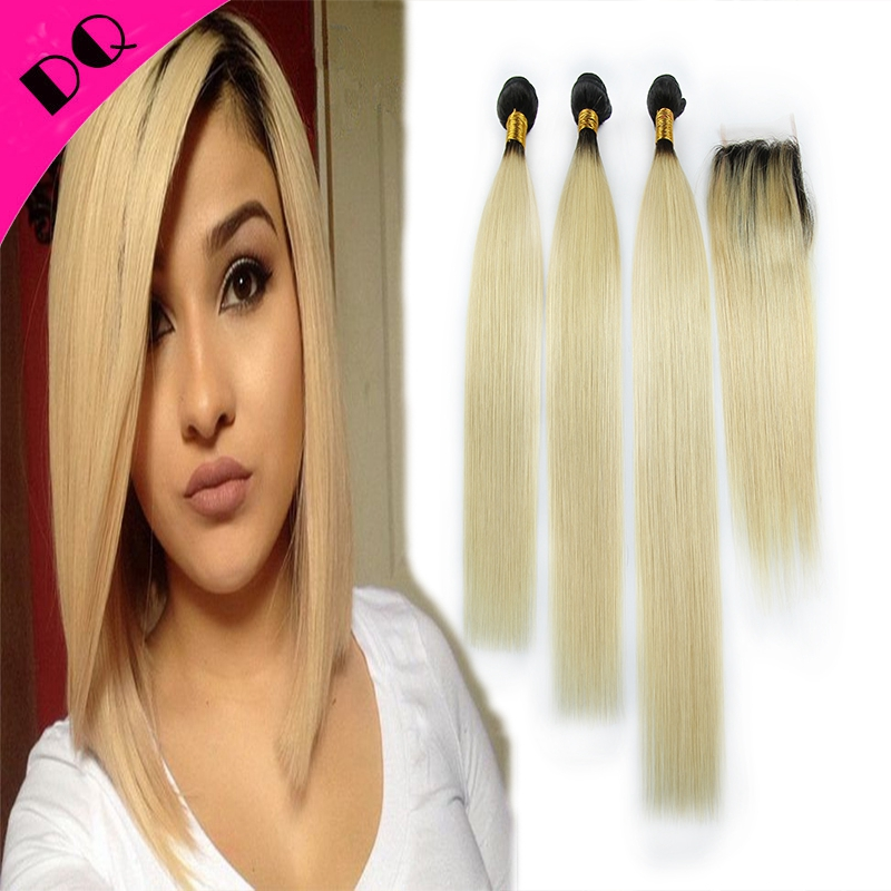 Brazilian Straight Hair 3 Bundles With Lace Frontal Closure Brazilian Virgin Hair With Closure Human Hair Weft Silk Straight <br><br>Aliexpress
