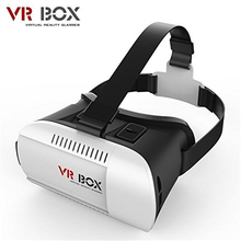 Google Cardboard VR BOX Version VR Virtual Reality 3D Glasses Headset for Iphone 5 5c 5s 6 6s Plus Samsung S6 S7 Edge SmartPhone(China)
